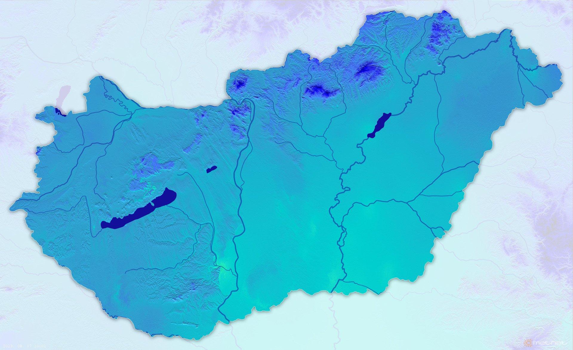 Aktuális hőmérséklet (BETA)