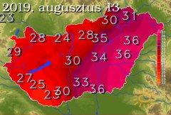 Napi Maximumhőmérséklet