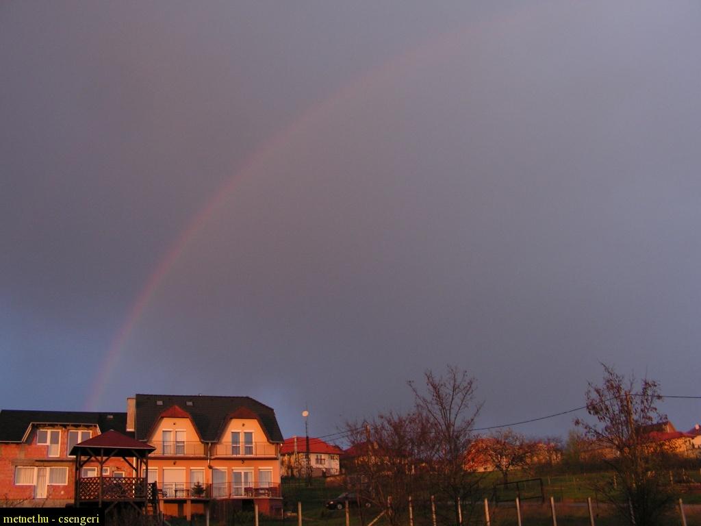 szivárvány, rainbow 10 april 2010